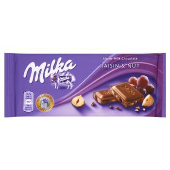 Milka Czekolada Raisin & Nut 100 g