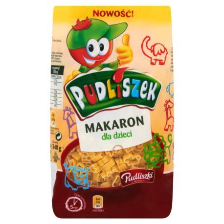 Pudliszki Pudliszek Makaron dla dzieci 3 40 g