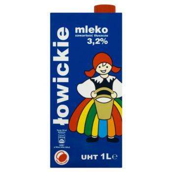 Łowicz Mleko łowickie UHT 3,2% 1 l