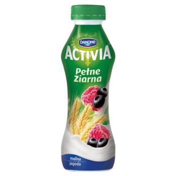Danone Activia Pełne Ziarna Malina jagod a Jogurt 280 g