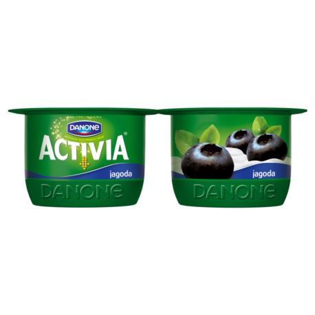 Danone Activia Jagoda Jogurt 240 g (2 sz tuki)