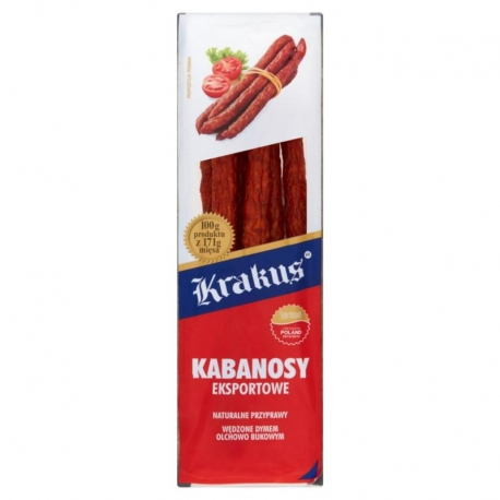 Krakus Kabanosy eksportowe 180 g