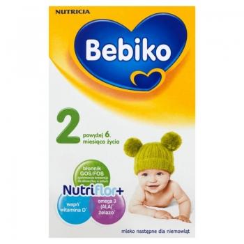 Bebiko 2 Mleko następne dla niemowląt po wyżej 6. miesiąca życia 350 g
