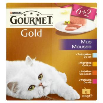 Gourmet Gold Mus Pełnoporcjowa karma 680  g (8 sztuk)