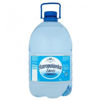 Staropolanka Zdrój Woda źródlana lekko g azowana 5 l