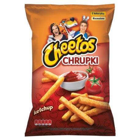 Cheetos Chrupki kukurydziane o smaku ket chupowym 165 g