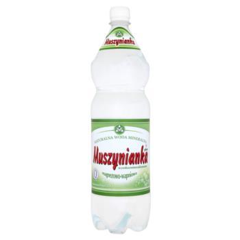 Muszynianka Naturalna woda mineralna wys okozmineralizowana magnezowo-wapniowa 1,