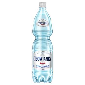 Cisowianka Naturalna woda mineralna lekk o gazowana niskosodowa 1,5 l