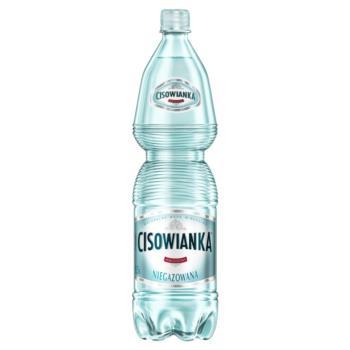 Cisowianka Naturalna woda mineralna nieg azowana niskosodowa 1,5 l