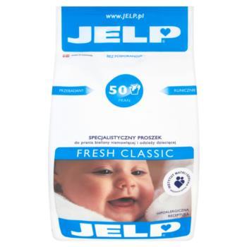 JELP Fresh Classic Specjalistyczny prosz ek do prania odzieży dziecięcej 4 kg