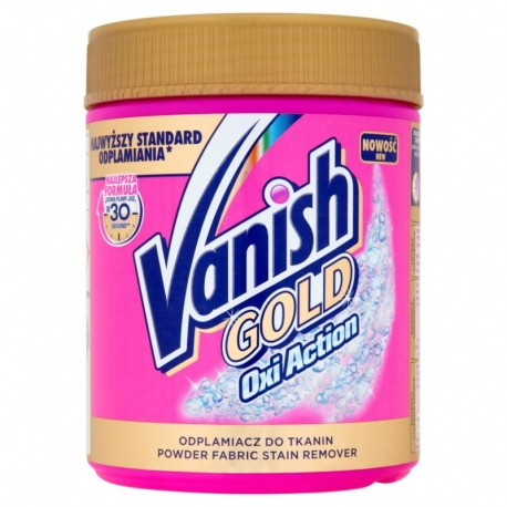 Vanish Gold Oxi Action Odplamiacz do tka nin 470 g