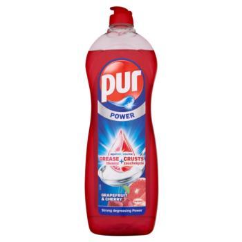 Pur Power Płyn do mycia naczyń Grejpfrut  i Wiśnia 900 ml