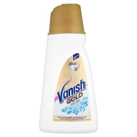 Vanish Gold Oxi Action Odplamiacz do bia łych tkanin w płynie 940 ml