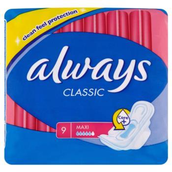 Always Classic Maxi Podpaski higieniczne  9 sztuk