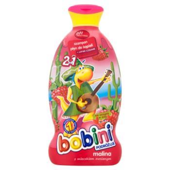 Bobini 2w1 Szampon i płyn do kąpieli mal ina z mleczkiem owsianym 400 ml