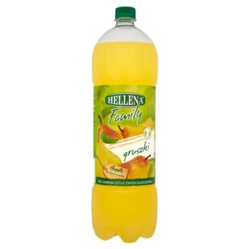 Hellena Family Napój niegazowany o smaku  gruszki 1,75 l