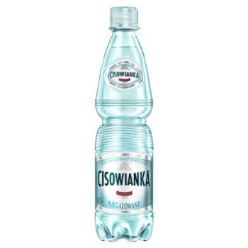 Cisowianka Naturalna woda mineralna nieg azowana niskosodowa 0,5 l