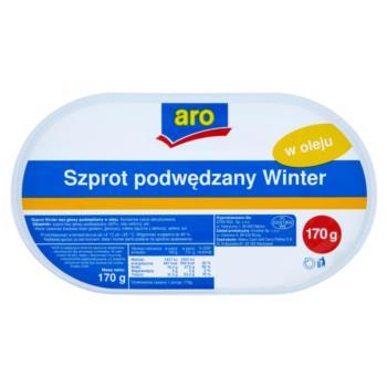 Aro Szprot podwędzany Winter w oleju 170  g