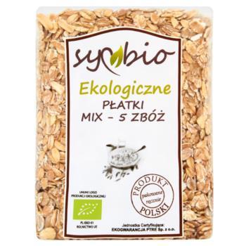 Symbio Płatki mix - 5 zbóż ekologiczne 3 00 g