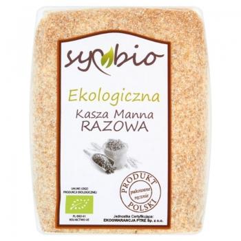 Symbio Kasza manna razowa ekologiczna 40 0 g