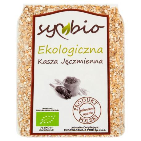 Symbio Kasza jęczmienna ekologiczna 400  g