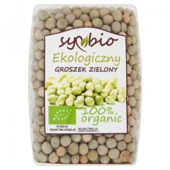 Symbio Groszek zielony ekologiczny 300 g