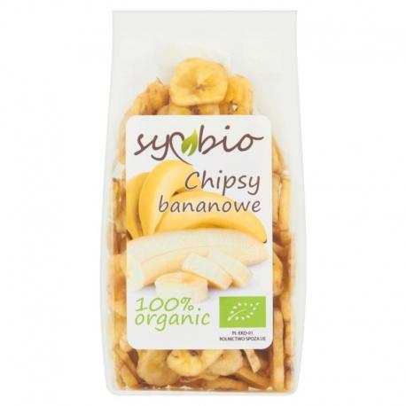 Symbio Chipsy bananowe 150 g