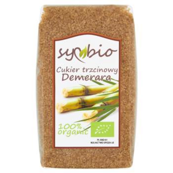 Symbio Cukier trzcinowy Demerara 500 g