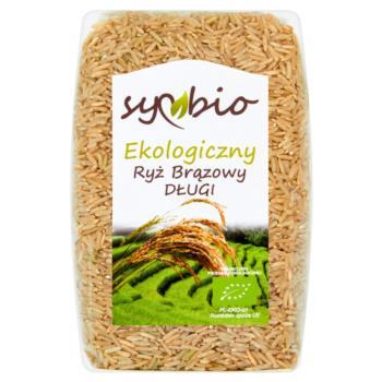 Symbio Ryż brązowy długi ekologiczny 500  g