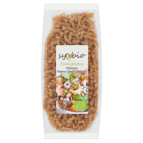 Symbio Makaron pszenno-żytnio-orkiszowy  świderek ekologiczny 400 g