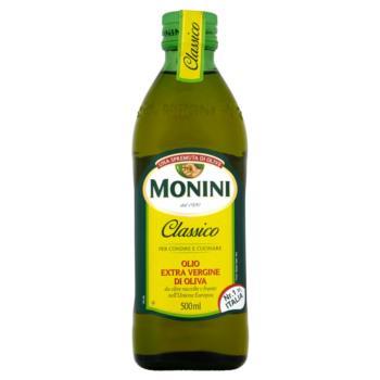 Monini Classico Oliwa z oliwek najwyższe j jakości z pierwszego tłoczenia 500 ml