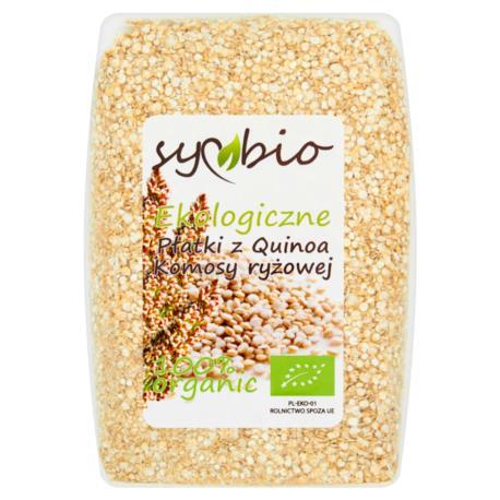Symbio Płatki z Quinoa komosy ryżowej ek ologiczne 250 g