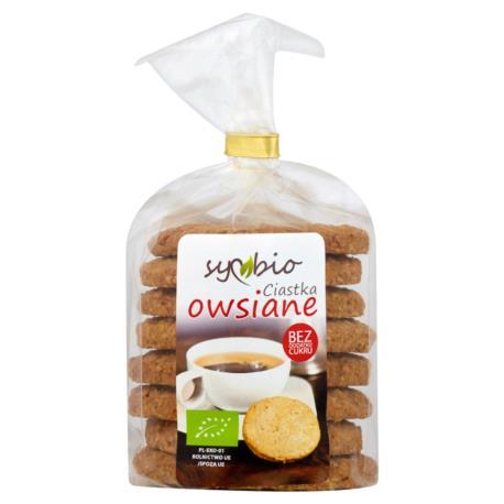 Symbio Ciastka owsiane 190 g