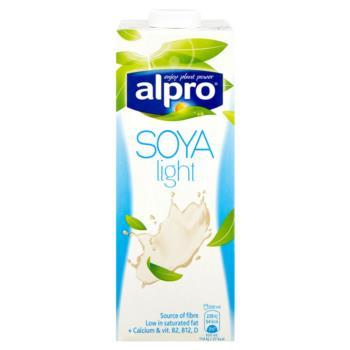 Alpro Soya Light Napój sojowy o smaku na turalnym 1 l