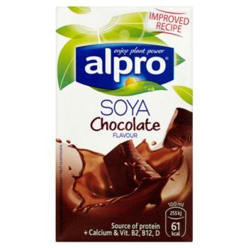 Alpro Soya Napój sojowy o smaku czekolad owym 250 ml