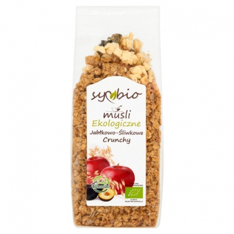 Symbio Musli jabłkowo-śliwkowe crunchy e kologiczne 350 g