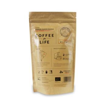 KAWA 100% ARABICA ZIARNISTA BRAZYLIA BIO  200 g - ALE EKO CAFE