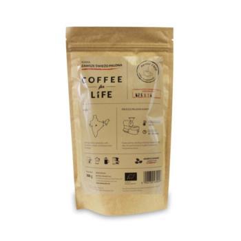 KAWA 100% ARABICA ZIARNISTA INDIE BIO 20 0 g - ALE EKO CAFE