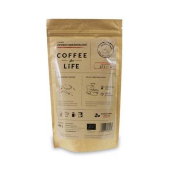 KAWA 100% ARABICA ZIARNISTA PAPUA BIO 20 0 g - ALE EKO CAFE