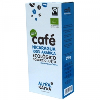 KAWA MIELONA NICARAGUA FAIR TRADE BIO 25 0 g -  ALTERNATIVA