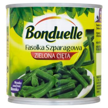 Bonduelle Fasolka szparagowa zielona cię ta 400 g