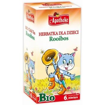 HERBATKA DLA DZIECI - ROOIBOS BIO 20 x 1 ,5 g - APOTHEKE