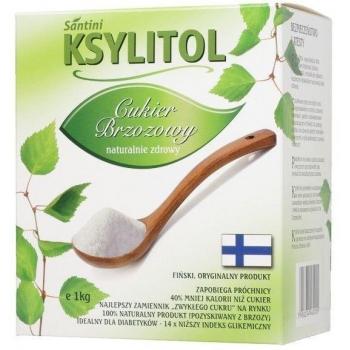 KSYLITOL C KRYSTALICZNY 1 kg - SANTINI ( FINLANDIA)