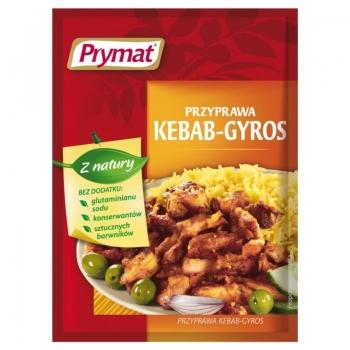 Prymat Przyprawa kebab-gyros 30 g