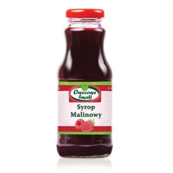 SYROP MALINOWY BIO 250 ml - OWOCOWE SMAK I