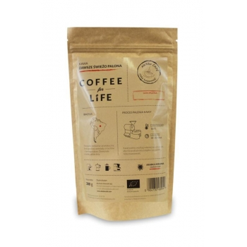 KAWA 100% ARABICA MIELONA BRAZYLIA BIO 2 00 g - ALE EKO CAFE