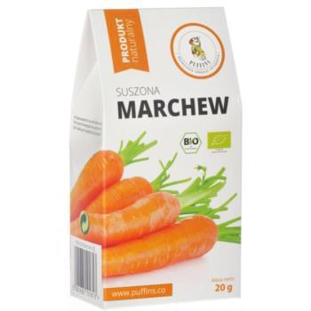 MARCHEW SUSZONA BIO 20 g - PUFFINS