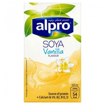 Alpro Soya Napój sojowy o smaku waniliow ym 250 ml