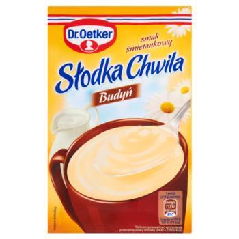 Dr. Oetker Słodka Chwila Budyń smak śmie tankowy 43 g