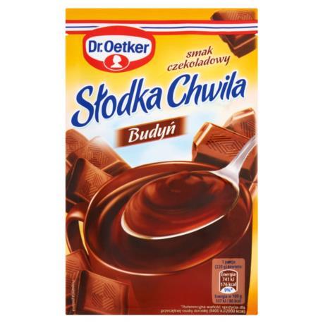 Dr. Oetker Słodka Chwila Budyń smak czek oladowy 45 g